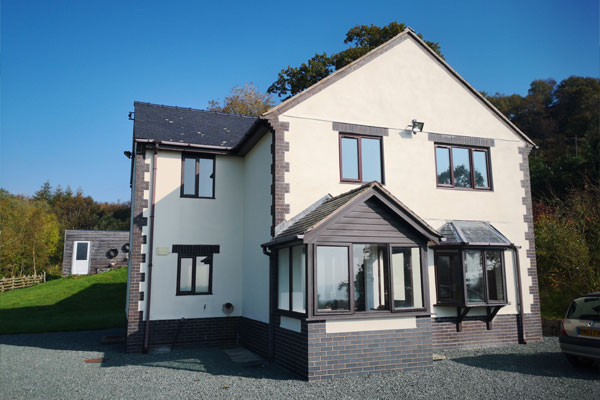Detached property in Shropshire